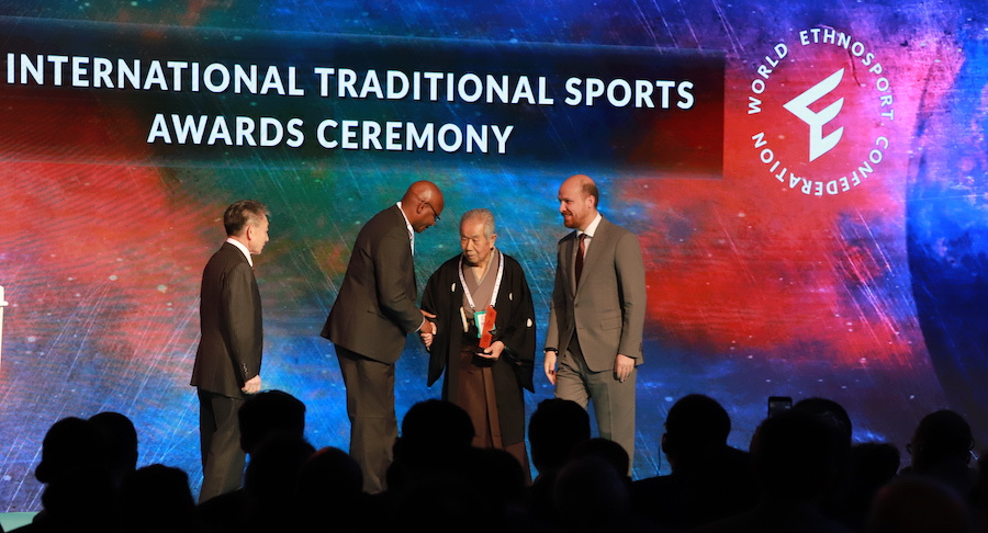 2nd International Traditional Sports Awards Were Presented