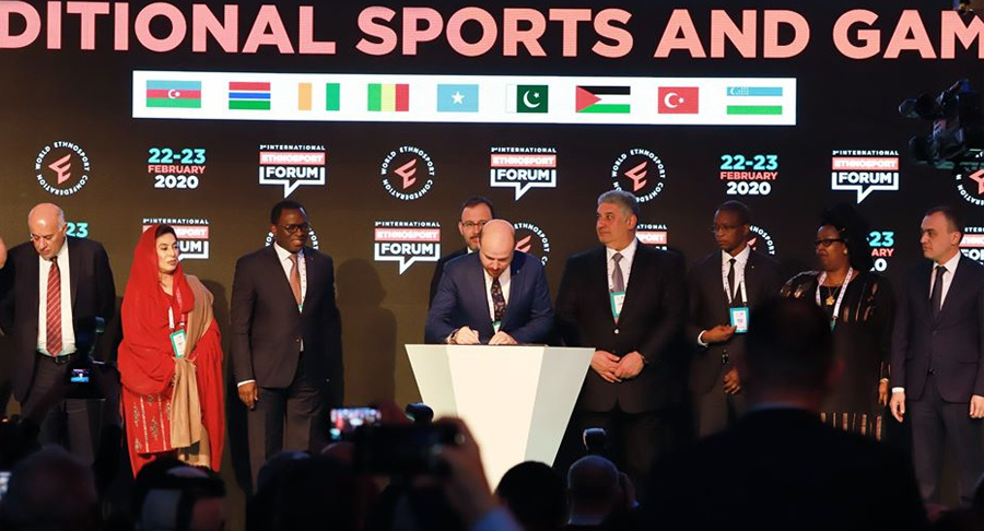 2020 Antalya Declaration of Traditional Sports was Signed